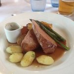 Duck Breast - potatoes charged extra!