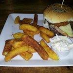 Homemade Beef Burger Stack