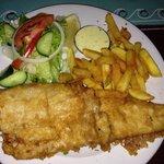 Fish & Chips, good portion, fresh fish