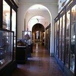 Corridoio del Museo Nazionale di Antropologia e Etnologia