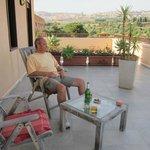 Big wrap around terrace