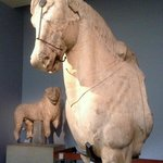 Horse from the Mausoleum of Halikarnassos, room 21