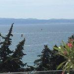 Vista mare dal piano SPA e Kitesurfers