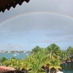 Rainbow over Grand Baie