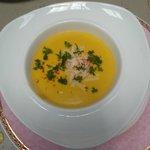Soupe aux Potiron et Parmesan