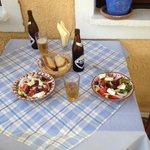 the Greek salad enjoy