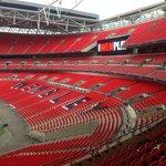Wembley Stadium...it's HUGE!!