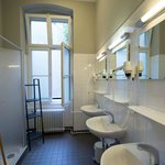 Duschen im ersten Stock