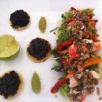 Caviar crabe royal en apéro pour65.00 euros