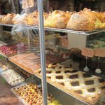 lots of cakes and pastries