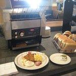 Toast station!