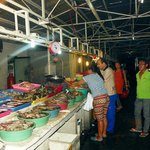 Purchase of fresh seafood