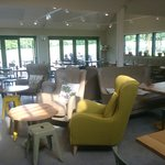 Brand new cafeteria - Packwood House