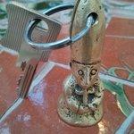 porte clef de l'évêque