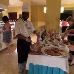 Un buffet royal - ce soir là, thème mexicain