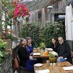 Guests enjoying a wonderful lunch!