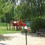 Play area outside.