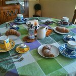 Una tipica colazione all'italiana
