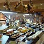just one of the many buffet areas!