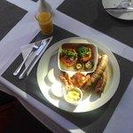 Full Cooked Aberdeen Breakfast.