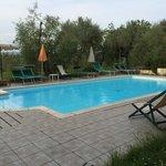 La piscina con panorama eccezionale