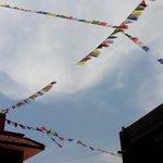 bandiere di preghiera al Planet