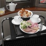 In-Room Breakfast at Villa Luxembourg