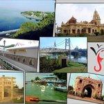 Places to visit displayed at Vinayak Villa, Bhopal.