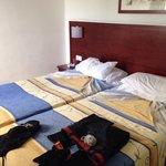 Nice rooms big beds