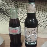 Root beer & coke