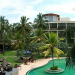 Panoramic view of hotel