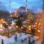 Hagia Sophia from my window !!