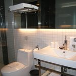 Neat, big and well maintained bathroom