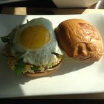 Truffle Burger - with a fried egg