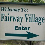 Fairway Village entrance