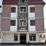 Facade of the DRS 8586 Haveli