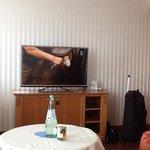 Kamer met tv