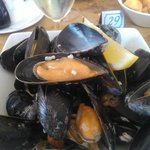 Just look at the size of those mussels. And Freshest...