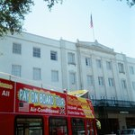 Departing from The Alamo by The Menger Hotel