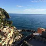 View from the Cristoforo Colombo balcony