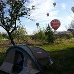 Morning at dilek camping
