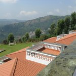 Great view of the hills & valley from veranda