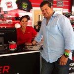 En Exotics Racings con mi prima Angie!!