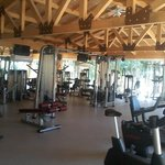 a view from our fitness center