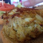 Jumbo Crab Cake sandwich at Mike's. Eastern Shore, MD. May 2014. @finnygo