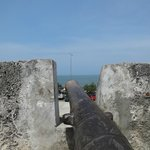 Old cannon still protecting the city