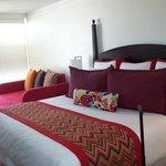 King Deluxe Ocean View Room - Very Comfortable King Bed