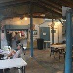 Patio at Racar Seafood - Las Croabas, Fajardo, PR
