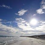 Небо с пляжа