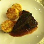 Carne seca com bolinho de mandioca e queijo coalho